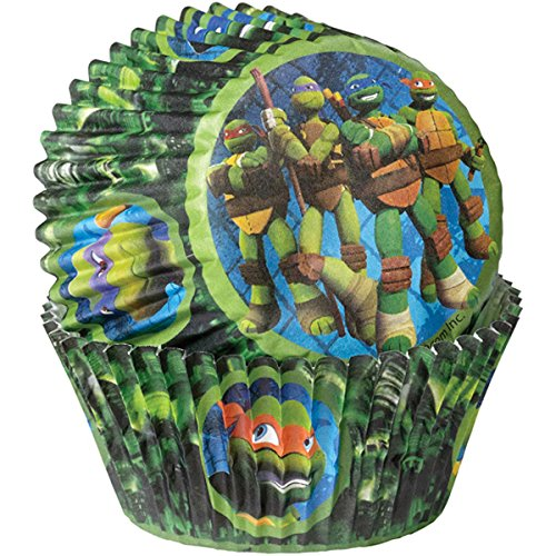 (Wilton Standard Baking Cups-Teenage Mutant Ninja Turtles 50/Pkg)