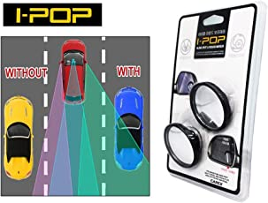 Ipop Adjustable Blind Spot Wide Angle Mirror for Car