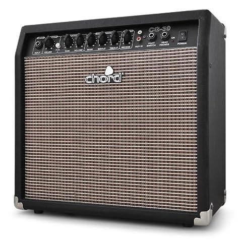 Chord CG-30 Ampli guitare - Amplificateur avec effets (30 W,