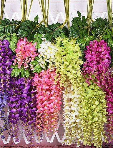 Fashion mazzo di fiori, fiori artificiali, seta artificiale, viola,