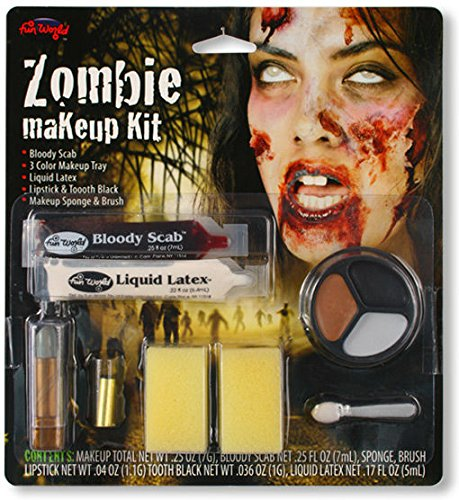 irl (Kid Zombie Halloween-make-up)