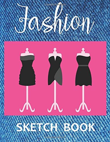 Fashion Sketch Book: (Size : 8.5