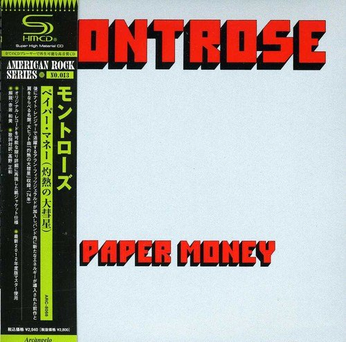 Paper Money [Shm-CD] - Montrose-cd