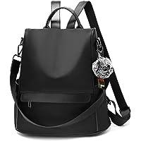 OUSIMEN Zaino Donna Antifurto Casual Nylon Impermeabile Borse a Zainetto Backpack Viaggio Lavoro Daypack