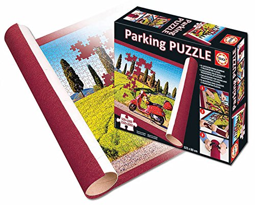 Educa Borrás-17194 Arquitectura Parking Puzzle, Multicolor, Talla Única (17194)