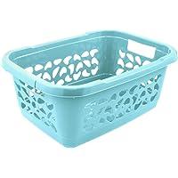 keeeper Laundry Basket, Air Permeable Design, 32 Litre, Jost, Aqua Blue