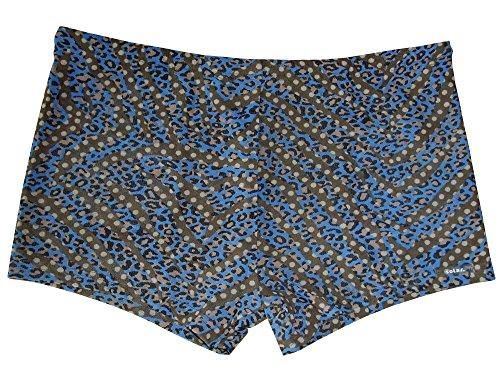 Solar Tan Thru Badehose Panty blau, Gr. 5, M