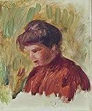 Das Museum Outlet–Portrait Of Young Frau, 1900, gespannte Leinwand Galerie verpackt. 50,8x 71,1cm