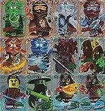 Lego Ninjago 2 (Serie 2) - Trading Card Game alle 12 Ultra Karten als Set - deutsche Ausgabe