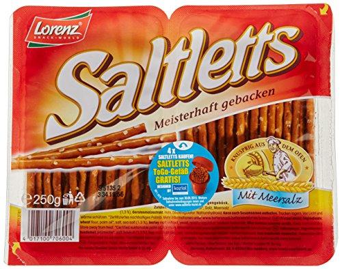 Preisvergleich Produktbild Lorenz Snack World Saltletts Sticks Classic,  4er Pack (4 x 250 g)