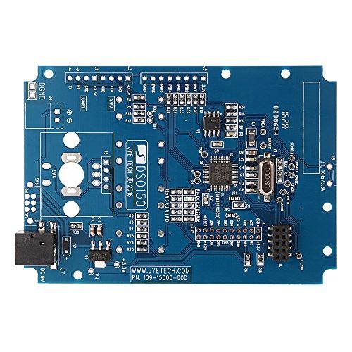 KKmoon 2,4 Zoll TFT Digital Oszilloskop DIY Kit Handheld Taschen Größe Elektronische Bausatz Teile mit Gelötet Sonde Open Source SMD und Gehäus 1 MPa/s 0-200 KHz