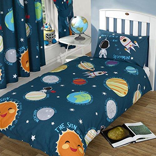 Sonnensystem Einzelner Bettbezug