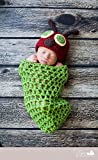 Jastore ® Foto Fotografie Prop Baby Kostüm Nette Raupen Stricken Handarbeit