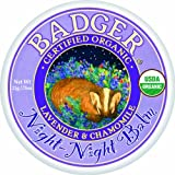 Badger Night Night Balm - 0.75 oz Size: 0.75 oz