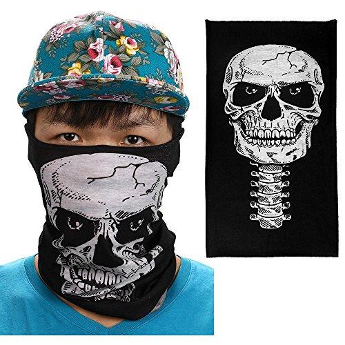 Fahrrad Motorrad Ski Schal Hals Tube Face Maske Sturmhaube Halloween Party, B