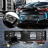 Audew Rückfahrkamera 4.3'' Drahtloses Monitor  Auto Rückfahrsystem Display Auto Rückansicht Nachtsicht Rückfahrtkamera Kamera  Wireless-Transceiver Gerätschaften