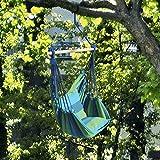 Hängesessel 'Sunny Shiner' Sitzschaukel Gartensessel zum Aufhängen verschiedene Farben, Hängesesselfarbe:blau