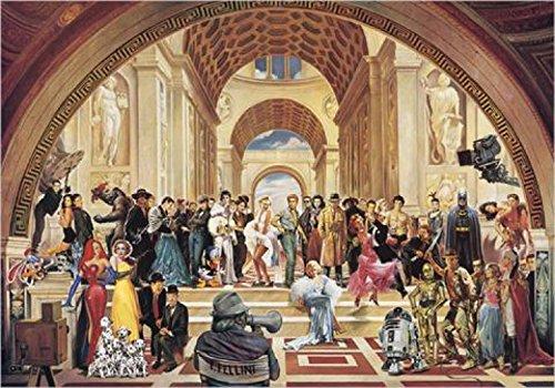 1art1 33510 Renato Casaro - 100 Jahre Filmkunst Poster Kunstdruck 50 x 35 cm