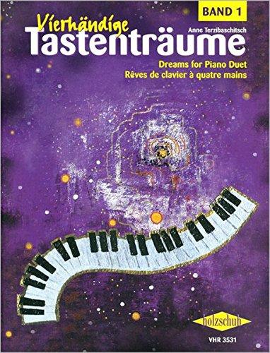 Vierhändige Tastenträume Band 1-25 Klavierstücke
