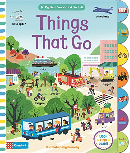 Things That Go (My First Search and Find, Band 2) (Monster Truck Board Book)
