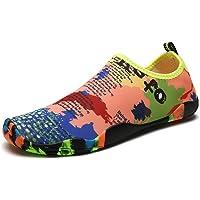 DoGeek Chaussures Aquatiques Homme Femme Chaussures de Yoga Chaussures de Bain Peau Aqua Pilate Chaussures -pour Sport…