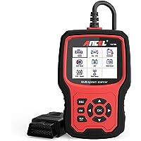 BUDDYGO OBD2 Diagnoseger/ät Auto Universal Fahrzeug Fehlercodeleser OBD II Diagnose Scanner arbeitet an Allen Autos mit OBD2//EOBD f/ür Lesen und L/öschen Fehlercode und Batterie Test
