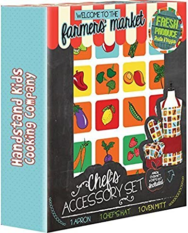 Handstand Kids Cooking Co. Child's 'Farmers Market' 3-piece Apron Set by Handstand Kids
