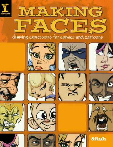 Making Faces: Drawing Expressions for Comics and Cartoons por 8Fish