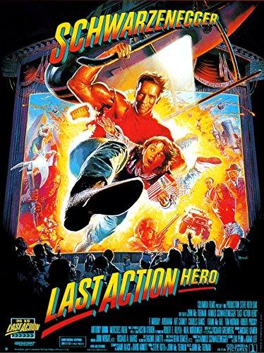 Affiche Cinéma Originale Grand Format - Last Action Hero (format 120 x 160 cm pliée)