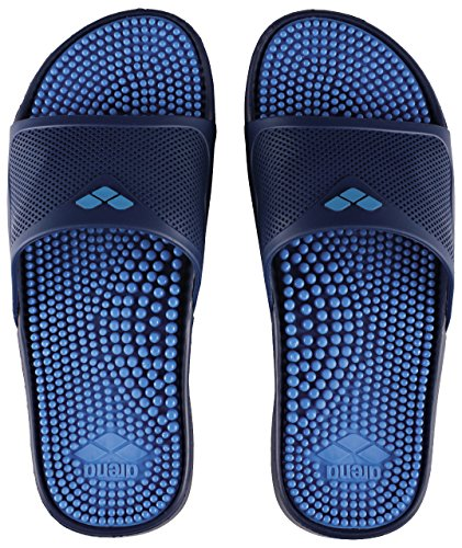 Arena marco x grip hook ciabatte, unisex – adulto, solid fastblue/navy, 42