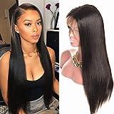 Parrucche lace front 360 parrucca donna capelli veri capelli lisci lace front wigs human hair parrucche donna capelli…