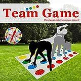 SECARIER Kinderspiel Spielmatte Bodenmatte Bodenspiel Familienspiel, Partyspiel, lustiges Spiel Geschicklichkeitsspiel für Kinder & Erwachsene - englische Version