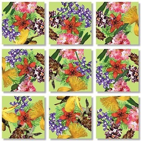 Scramble Squares: American Native Flowers