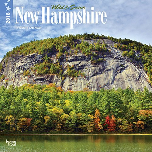 Wild & Scenic New Hampshire 2018 Calendar (New Hampshire-kalender)