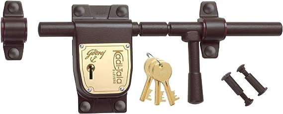 Godrej Locks Kadi Tala - 275 mm (Texture Brown)
