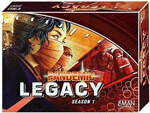 Z-Man Games ZMG71171-R - Pandemic Legacy - 1 Saison, rot Preisvergleich