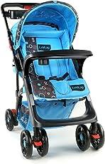 Luvlap Sports Stroller (New Blue & Black)