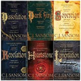 The shardlake series collection C. J. Sansom 6 books set ( Dissolution , Dark Fire , Sovereign , Revelation  , Heartstone , Lamentation)