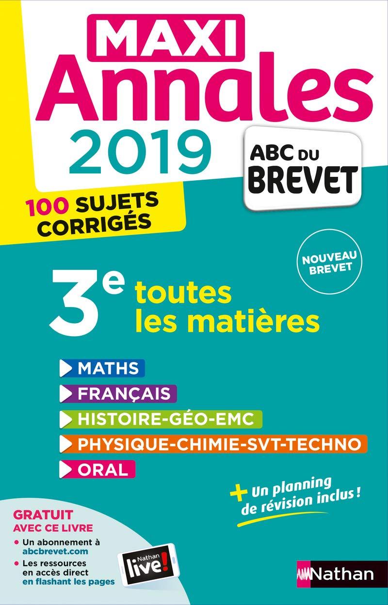 Maxi Annales ABC du Brevet 2019 por Nicolas Coppens