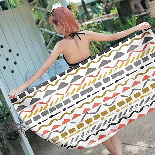 KELITA-LUCK Gesundgemütlich Yoga Handtuch Mikrofaser Strandmatte für Fitness Sport & Yoga Decke für Matte 59x27in Mandala gedruckt gesundgemütlich (Color : 6, Size : 150 * 70cm)