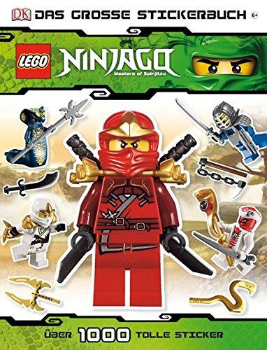 Preisvergleich Produktbild LEGO Ninjago: Das große Stickerbuch - über 1.000 tolle Sticker