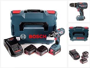 Bosch Akku-Bohrschrauber 06019H4103 GSR 18-28 3x3,0 AH - L-Boxx, 1 W, 18 V
