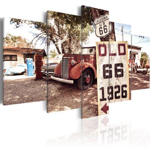 murando - Bilder 200x100 cm Vlies Leinwandbild 5 TLG Kunstdruck modern Wandbilder XXL Wanddekoration Design Wand Bild - Auto 030206-4