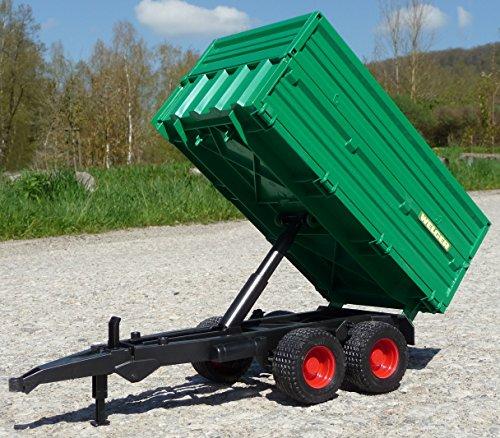 RC Auto kaufen Traktor Bild 5: WIM-Modellbau RC Traktor FENDT 1050 Anhänger in XL Länge 74cm Ferngesteuert*