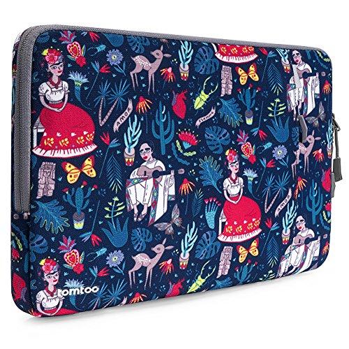 tomtoc Laptop Sleeve Tasche kompatibel mit alt 13,3 Zoll MacBook Air, 13 Zoll MacBook Pro Retina 2012-2015, spritzwasserfrei Notebook Hülle mit CornerArmor Patent, mit Zubehörtasche (Mac Pro Notebook 2012)