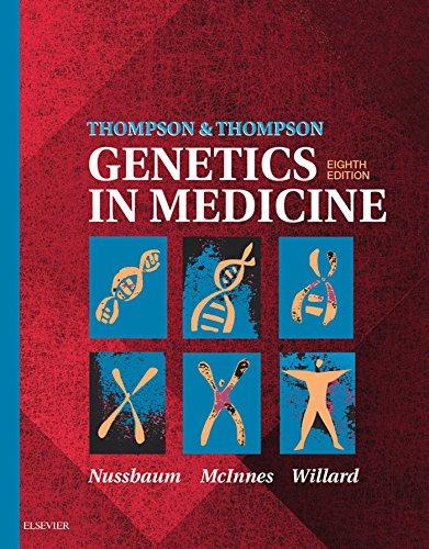 Thompson & Thompson Genetics in Medicine (Thompson and Thompson Genetics in Medicine) (English Edition) por Robert L. Nussbaum