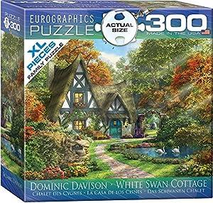 Eurographics 8300-0977 - Puzzle (300 Piezas), diseño de Cisne Blanco