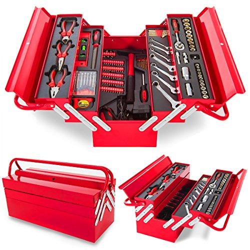 Greencut TOOLS-118 - Set de herramientas (118 piezas), caja...