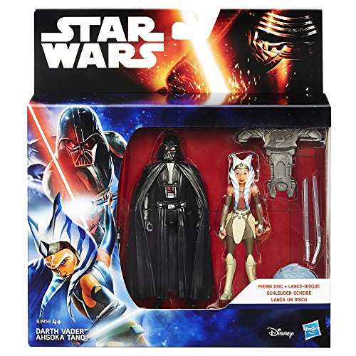 Star Wars Rebels 3.75-inch Space Mission Darth Vader And Ahsoka Tano Figure - 2
