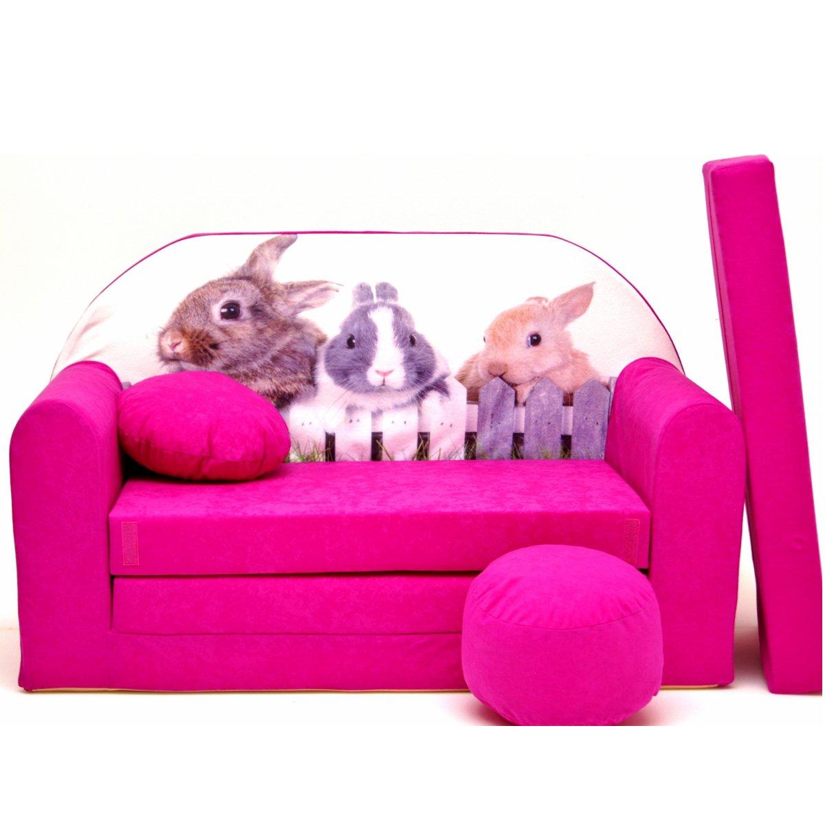 H25-D bambini divano pieghevole divano letto divano sofa Mini Couch 3�in 1�Baby Set + sedia per bamb